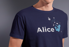 Alice Logo Tee