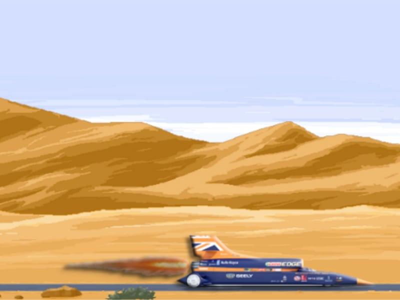 Desert Camp:  BloodhoundSSC