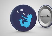 Alice Logo Mini Pin